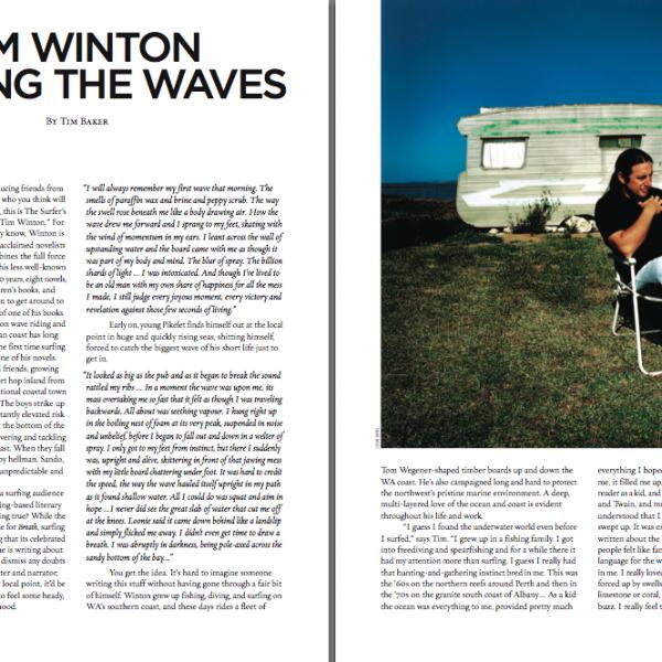 Tim Winton: Writing the Waves