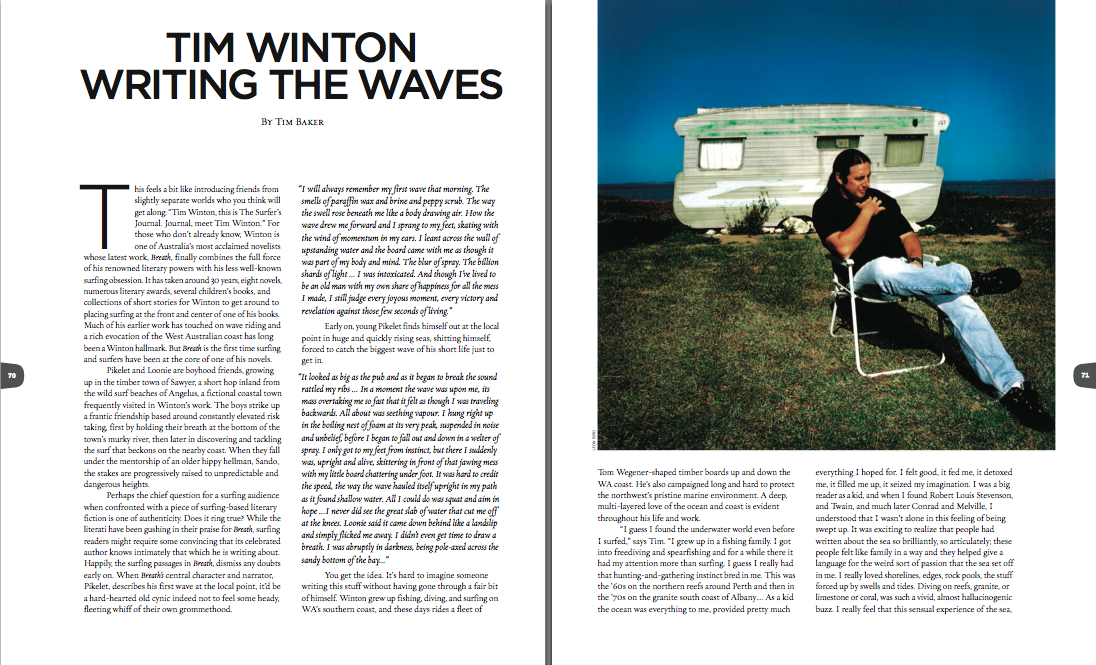 Tim Winton: Writing the Waves