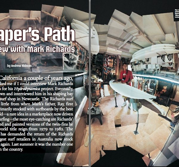 A Shaper's Path