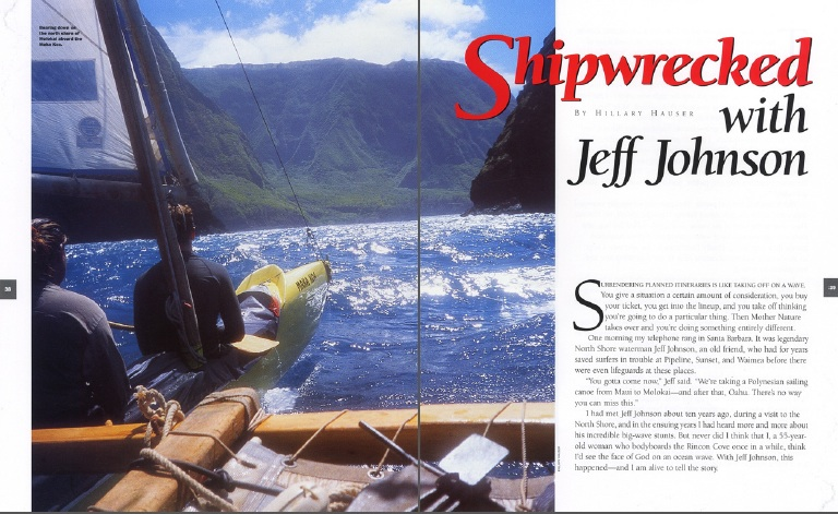 Shipwrecked with Jeff Johnson