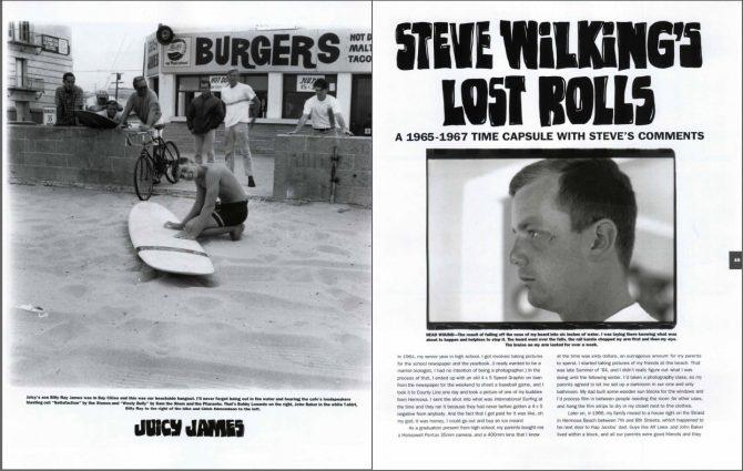 Steve Wilking's Lost Rolls 1964-68