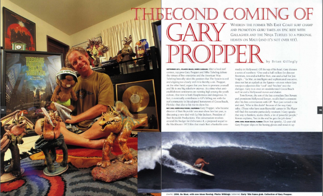 The Second Coming of Gary Propper