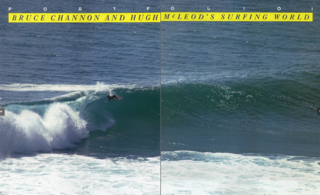 Portfolio : Bruce Channon and Hugh Mcleod's Surfing World