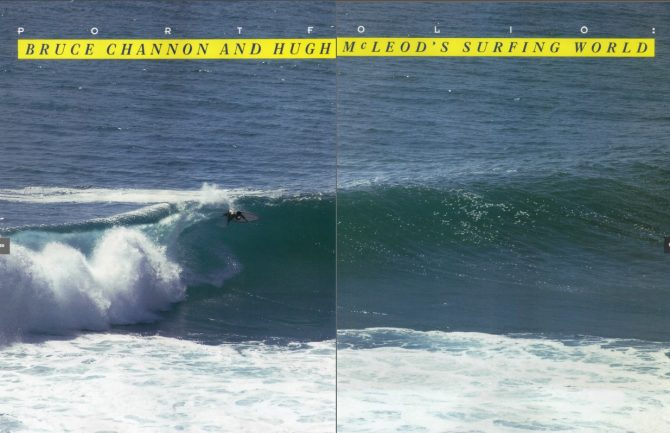 Portfolio : Bruce Channon and Hugh Mcleod's Surfing World