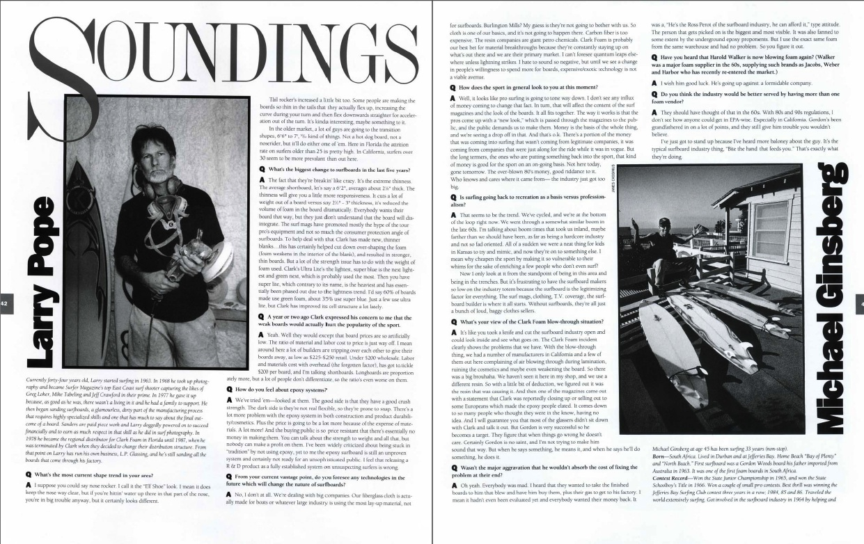 Soundings: Ginsberg, Pope, Channin, Jobson