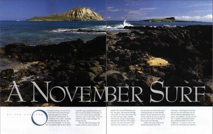 A November Surf