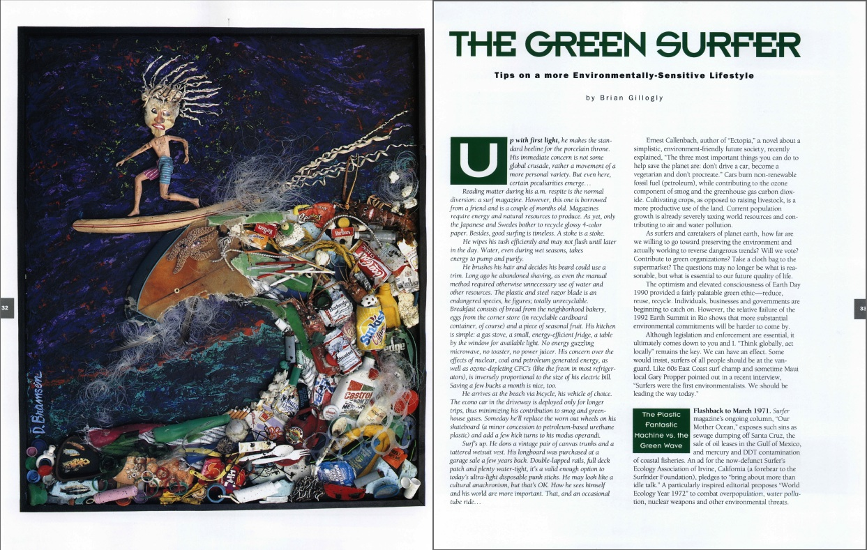 The Green Surfer
