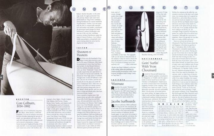 Undercurrents: Goin' Surfin' With Yvon Chouinard