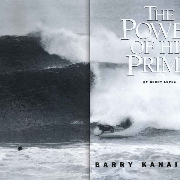 The Power of his Prime: Barry Kanaiaupuni