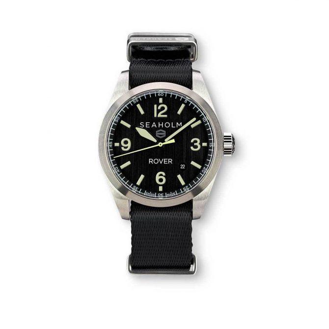 Seaholm Rover Field Watch | Black | NATO Strap