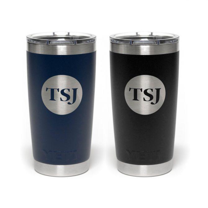 TSJ Yeti Rambler Cup   Navy Blue & Black