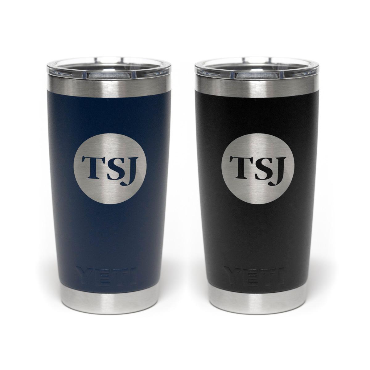 TSJ Yeti Rambler Cup | Navy Blue & Black