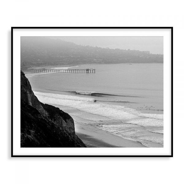 Black's Beach Greyscale